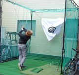 携帯用ゴルフ方法装置のゴルフネット
