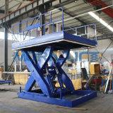 Double table élévatrice hydraulique électrique de ciseaux