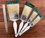 Manico di legno Cina della setola di 100% della vernice di spazzola pura del chip 3pk