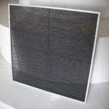 Сетка плоской верхней части гофрированная для моих фильтруя