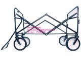 ثقيلة - واجب رسم يطوي حديقة حامل متحرّك عربة عربة 4 عجلة عملّيّة سحب على طول عربة يد