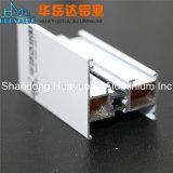 Revestimento em pó branco ligas de alumínio extrudido Perfil para janelas e portas de alumínio