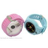 カメラD14を持つ人のための子供GPSの追跡者の腕時計