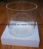 Claro de 300 mm de diámetro de tubo de vidrio Pyrex fuego