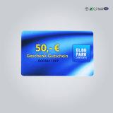 Gk4001 de PVC de ISO inteligente Contacto memoria Tarjeta de identificación regrabables.