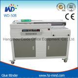 Carpeta de cola (WD-50B +) pegamento vinculante máquina con tres rodillos