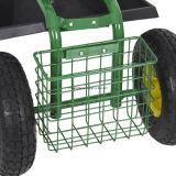 Tool Tray 무겁 의무 Gardening Planting New를 가진 정원 Cart Rolling Work Seat