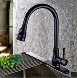 Orb het Messing trekt Kraan van het Water van het Handvat van de Tapkraan van de Keuken van de Nevel de Sanitaire Enige terug