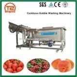 De meeste Machines van de Was van de Groente van de Capaciteit en van de Bel van het Fruit Ononderbroken