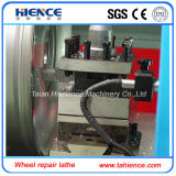 Máquina horizontal barata Awr2840 del torno de la rueda del CNC de la buena calidad