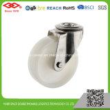 Weiße NylonEdelstahl-Fußrollen (D104-20D080X35)