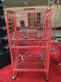 高品質のシート・メタルの製造のために表示されて分ける(粉の塗られた/赤い機構/鋼鉄表/金属の柵)