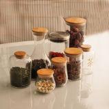 Glasplätzchen-Glas-Speicher-Nahrung macht Tee-Glas ein
