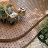 Decking promotionnel de la maintenance inférieure neuve WPC de production