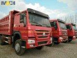 Autocarro a cassone utilizzato dell'autocarro con cassone ribaltabile HOWO per il Congo