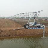 Sistema de riego circular para tierras de cultivo