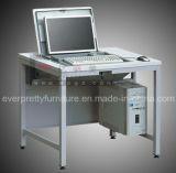可逆金属鋼鉄学生のスマートなコンピュータ表の机