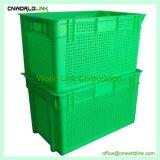 30kg de carga todas as malhas de cor em movimento Engradado de ninho de plástico