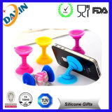 Silicon Mini Speaker Stand Cell Phone Horn para iPhone 5