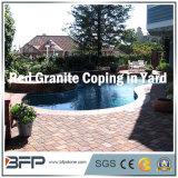 Pedra de granito natural para piscinas de piscina / Pavimentação de piscina / azulejos de piscina
