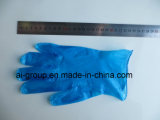 Pulverisierte oder Puder-frei nachweisbare Vinylhandschuhe für Prüfung