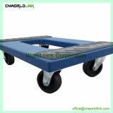 Mobile Movendo Skate Dolly plástico com rodas com almofada de PVC