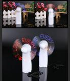 Ventilateur promotionnel d'USD DEL de coutume de vente chaude, ventilateur fait sur commande du message USB