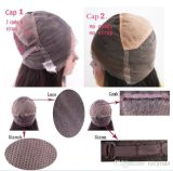 Jungfrau indisches Huma Haar-volle Spitze-Perücken