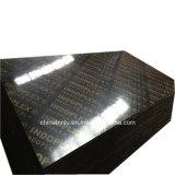 Pie de imprenta Film enfrenta Waterproof encofrados de madera contrachapada de materiales de construcción