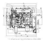 Gekoeld water en Inter Gekoelde Dieselmotor voor Dieselmotor