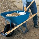 Pega de madeira de aço pesado 6FT Wheelbarrow