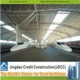 El aeropuerto y estación de tren de la construcción de la estructura de acero