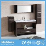Governo di stanza da bagno classico multifunzionale con 2 bacini e specchi (BV191W)
