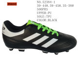 Drie Voetbalschoenen van Kleuren Pu Twee Schoenen van de Grootte