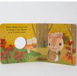 아기를 위한 공상 유행 새끼 손가락 괴뢰 꼭두각시 장난감 책
