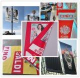 商業広告のための500d*500d PVC上塗を施してあるBlockout旗