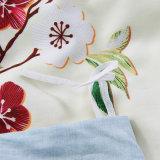 Folha de base impressa do algodão de matéria têxtil projeto luxuoso Home