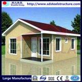 新式の容易なアセンブルされた鉄骨構造のプレハブの移動式家