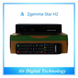 Nuovo 750MHz USB WiFi DVB-S2+DVB-T2/C Zgemma-Star H2 del CPU Satellite Receiver Support