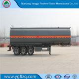 販売のための新しい半炭素鋼のCustomed 3 Fuhua/BPWの車軸オイルの/Fuelのタンカーのトレーラー