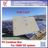 15 В 1, 1500 В постоянного тока системы питания разъему распределительной коробки для поверхности или на поверхности системы инвертора