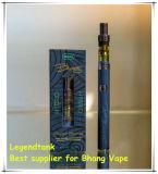 E cigarrillo Cbd Vaporizador de cerámica de vidrio de aceite de pluma de atomizador
