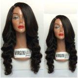 흑인 여성을%s 최고 질 사람의 모발 가득 차있는 레이스 가발