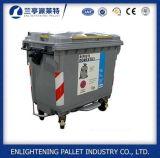 HDPE 1100L Plastic Wastebin met het Pedaal van het Deksel