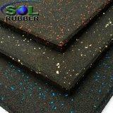 Op zwaar werk berekende RubberTegel van uitstekende kwaliteit 15mm van de Vloer van de Gymnastiek