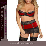 Lingerie haute taille Babydoll taille grande (22368P)