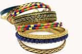 Böhmen bördelte Armband-Frauen-Form-Armband-Armbänder