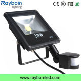 PIR Motion Sensor LED Floodlight 20W Waterproof Portable Rechargeable Work Light