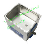 10L 240W Double Frequency Degassing Ultrasonic Cleaner con Heater