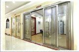 Het de Franse Schuifdeur en Venster van het Balkon van het Profiel van het Aluminium van beelden